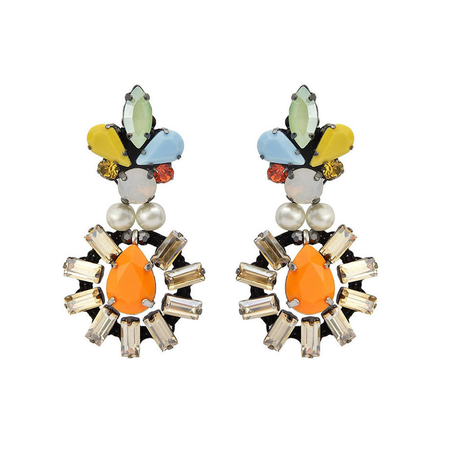 Tropical Statement Fiesta Earrings