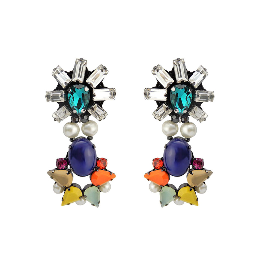 Tropical Fiesta Statement Earrings