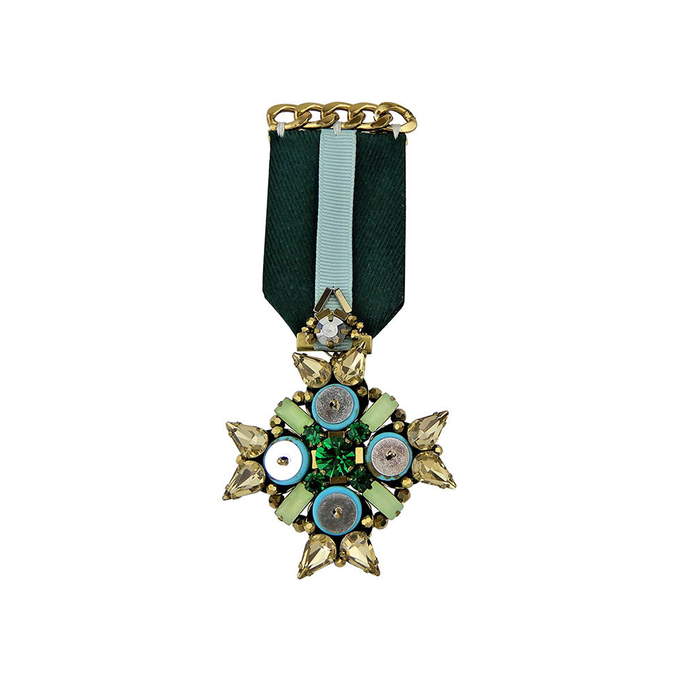 Medal Brooch with Knight's Cross