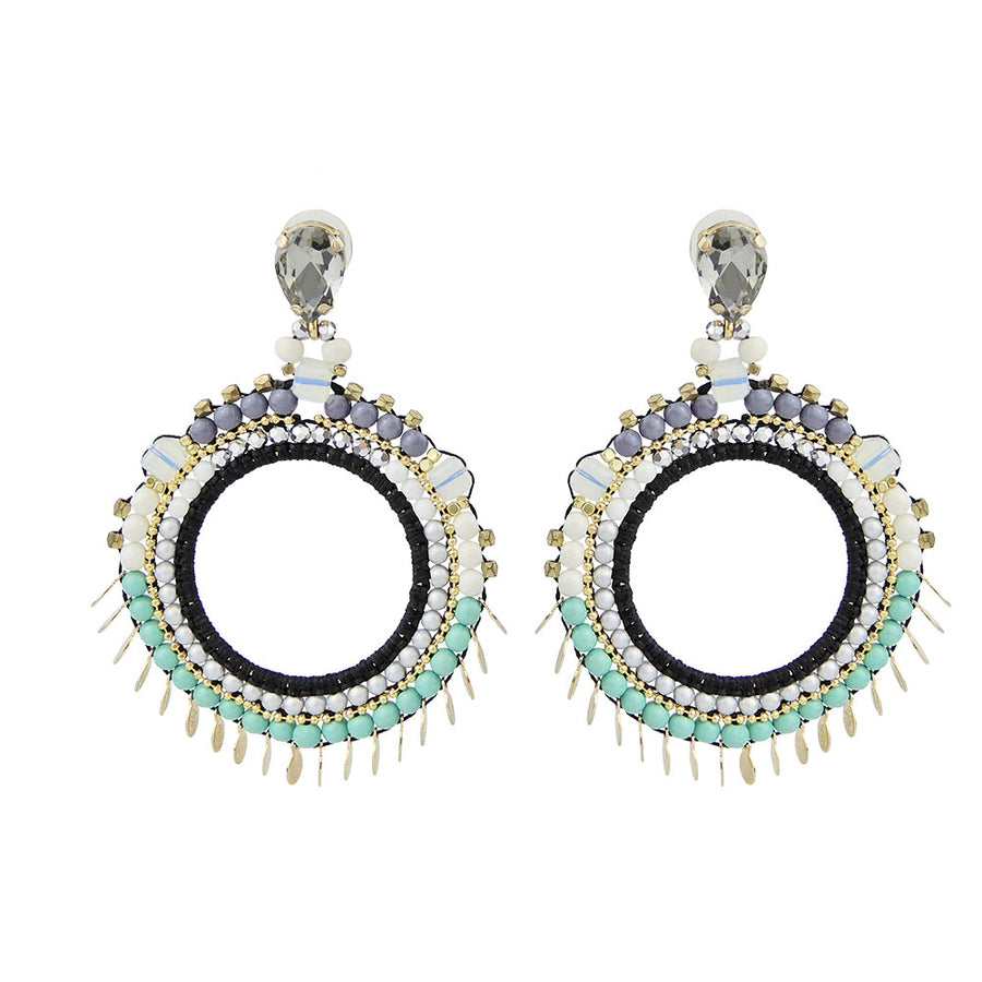 Statement Beadweaving Hoops