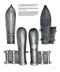 Page 311 - Indian arm guards from the book - Islamic and Oriental Arms and Armour: A Lifetime's Passion by Robert Hales