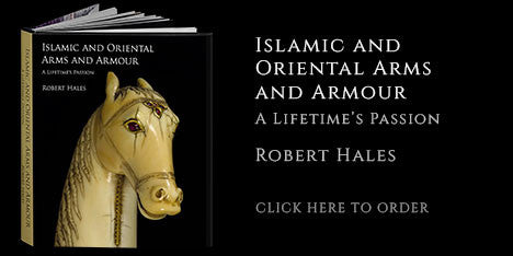 Image of the book, of Islamic and Oriental Arms and Armour: A Lifetime's Passion by Robert Hales