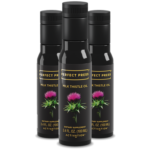 Perfect Press, Milk Thistle Oil Promo