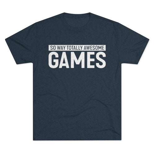 SWTA Games Men's Tri-Blend Crew Tee