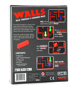 WALLS - Race Through A Changing Maze
