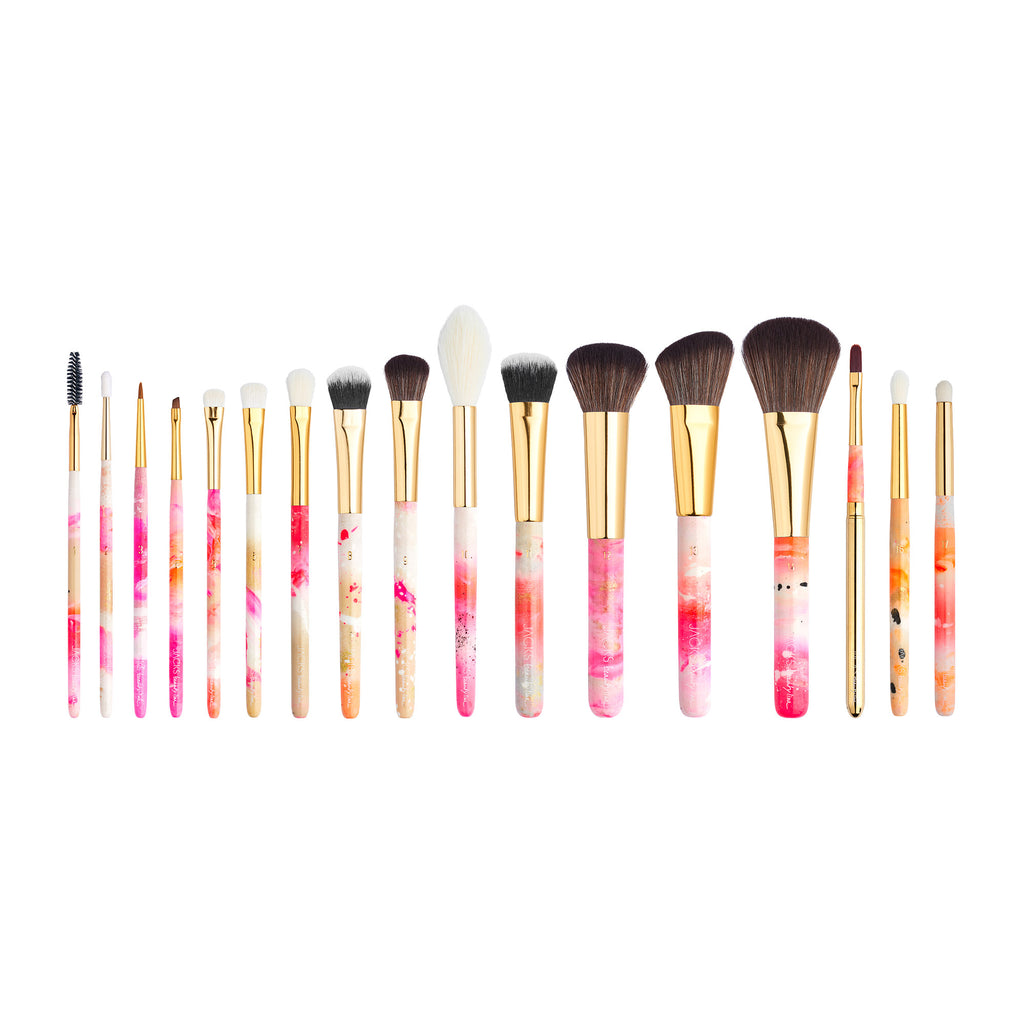 17er Profi Make-up Pinsel Set - JACKS beauty line