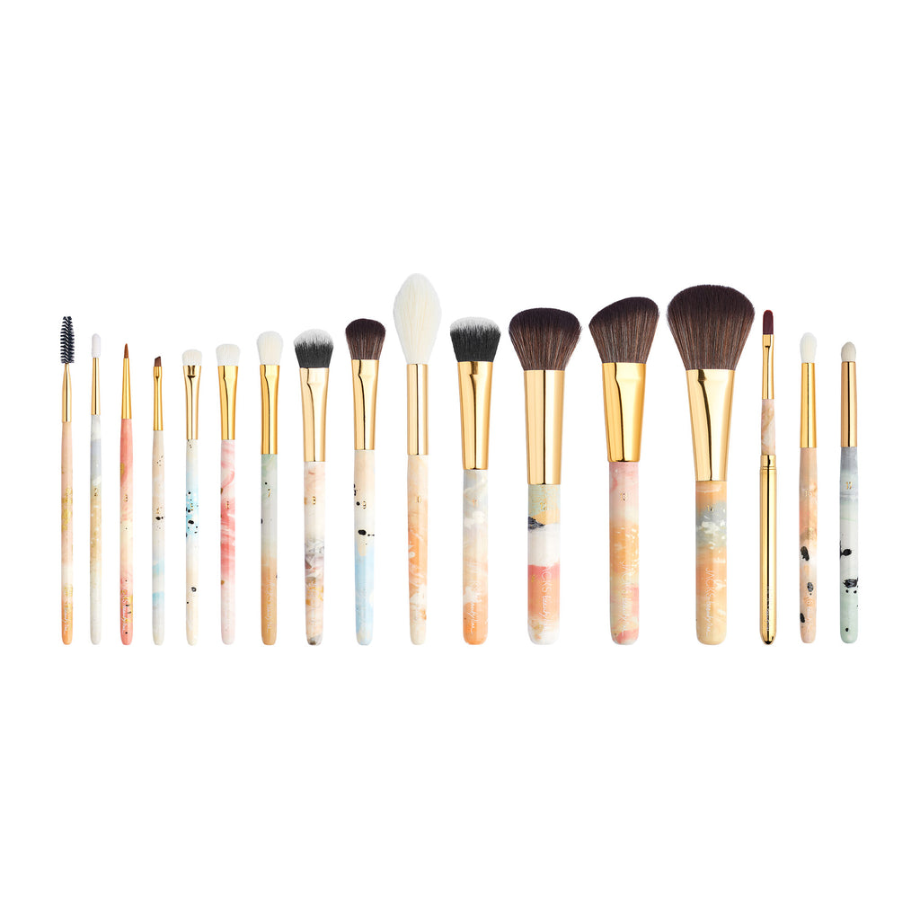 17er Profi Make-up Pinsel Set - JACKS beauty GmbH