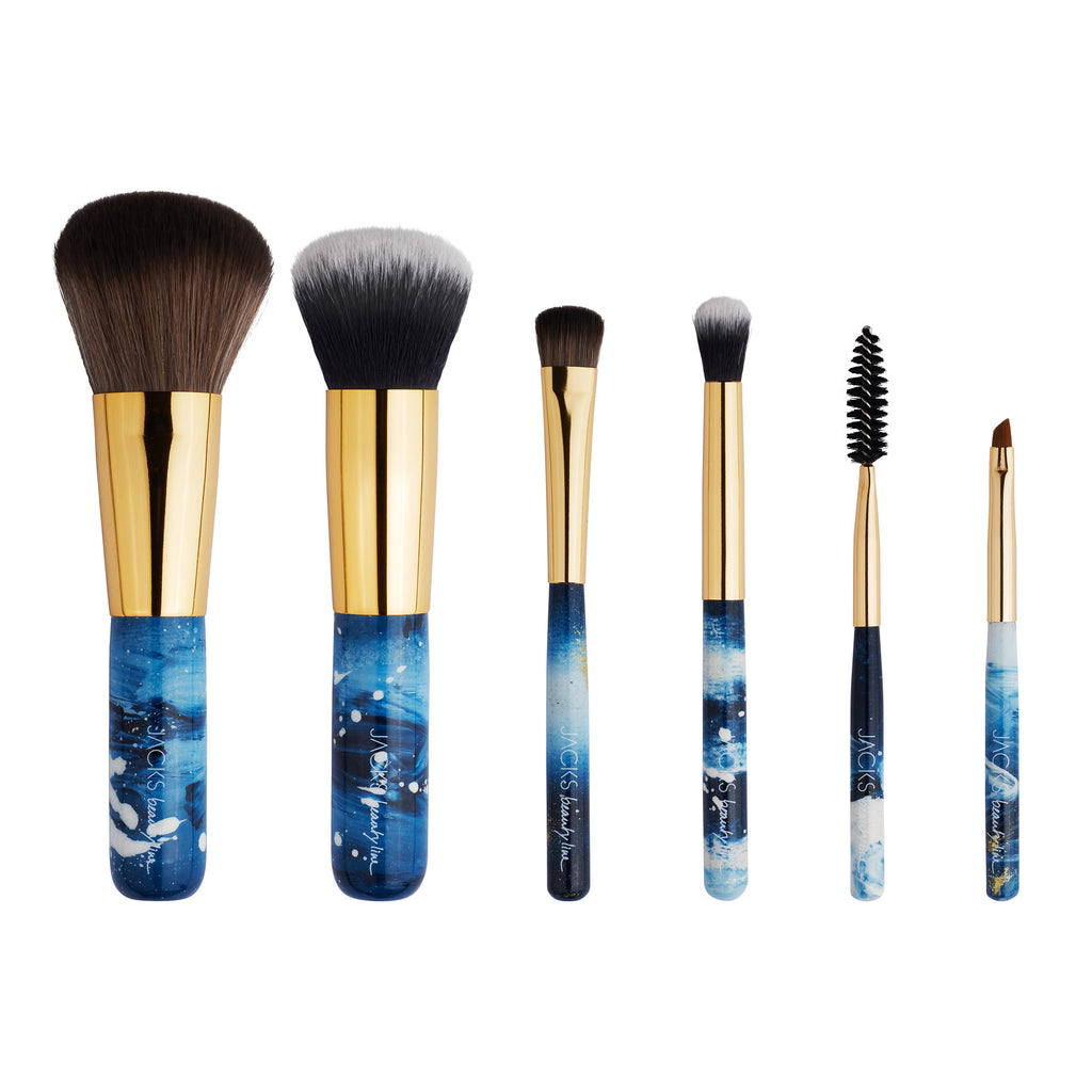 MINI BRUSH SET Aqua - JACKS beauty line