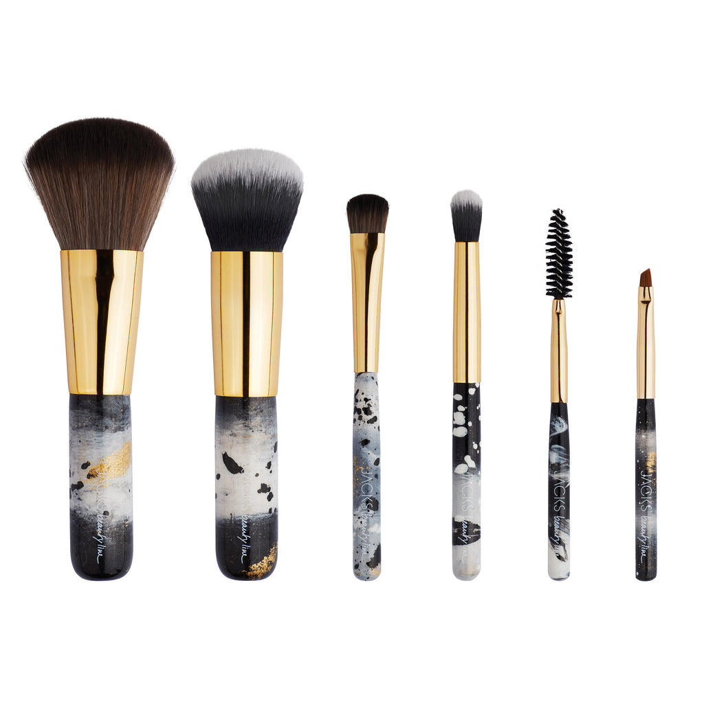 Mini Brush Set - Monochrom - JACKS beauty GmbH