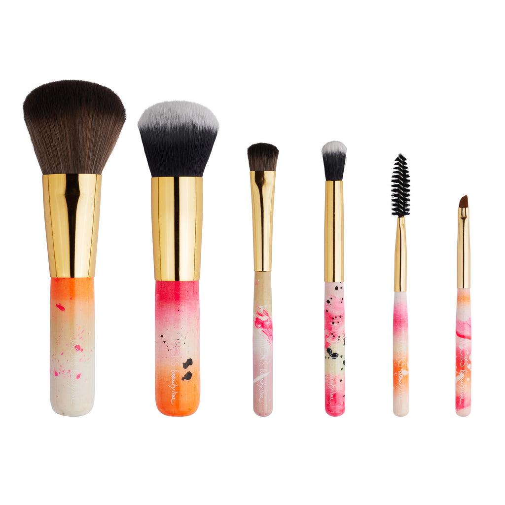 MINI BRUSH SET Neon - JACKS beauty line