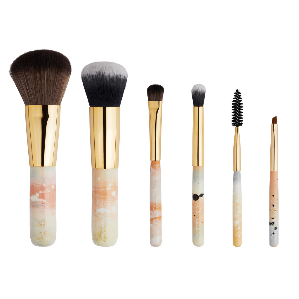 MINI BRUSH SET Pastell - JACKS beauty line