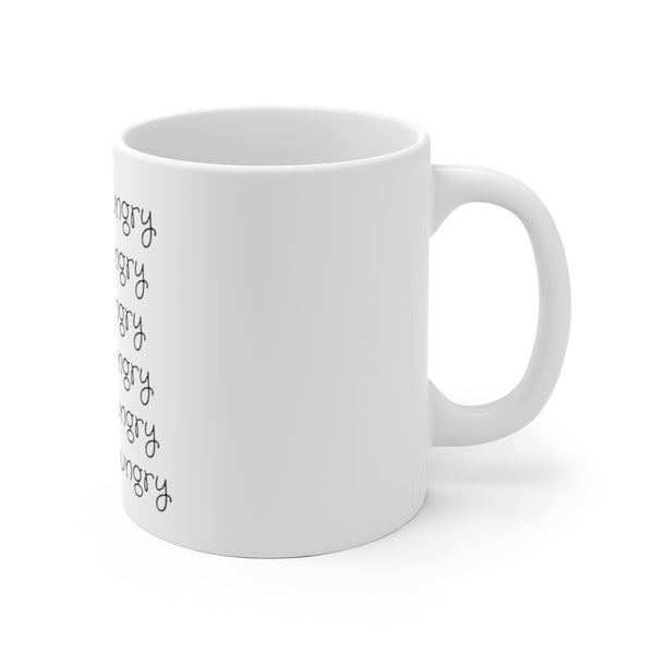 'Just Hungry' Mug (11oz.)