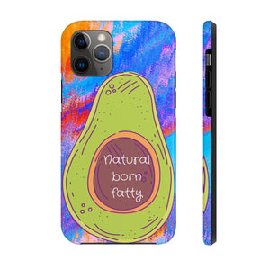 Natural Born Fatty iPhone Case