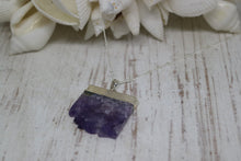 Load image into Gallery viewer, Amethyst Silver Necklace