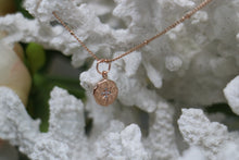 Load image into Gallery viewer, Rose Gold Cubic Zirconia Necklace