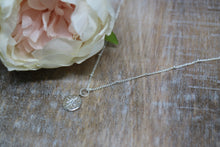 Load image into Gallery viewer, Silver Cubic Zirconia Necklace