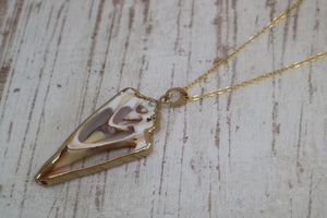 Sea Shell Gold Necklace