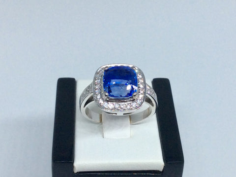 One of the most stunning Blue Sapphires you will see....