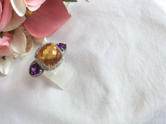 Citrine and Amethysts...Wow