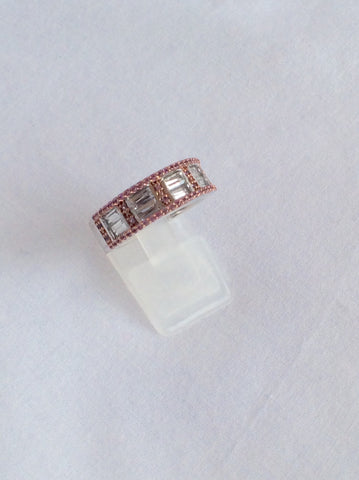 Pink & White Sapphires