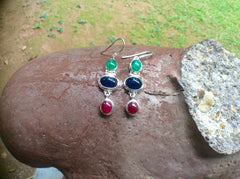 Emeralds, Rubies & Blue Sapphires