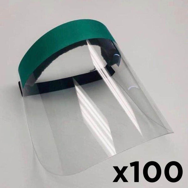 x100 - Plexi Face Shield Mask (-20%)