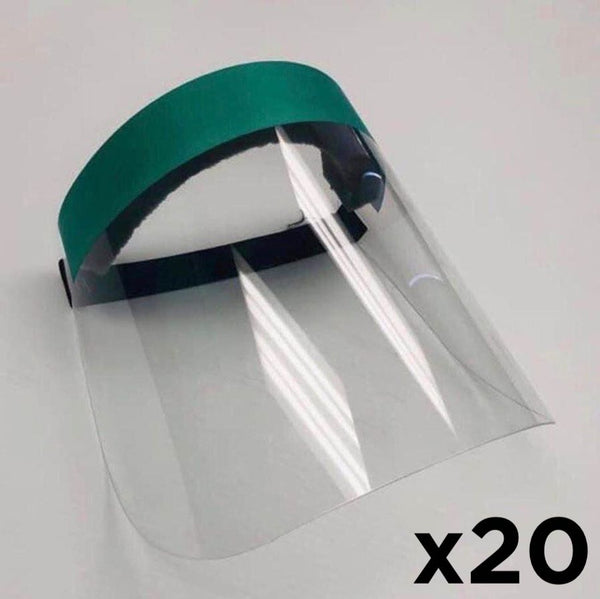 x20 - Plexi Face Shield Mask (-10%)
