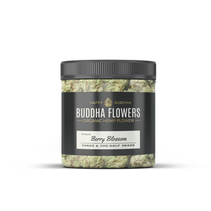 BUDDHA FLOWERS Black Label Berry Blossom 3.5 grams