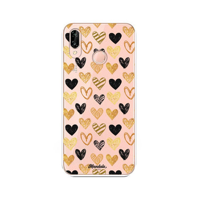 Pink Hearts Case - Mandala Cases sas