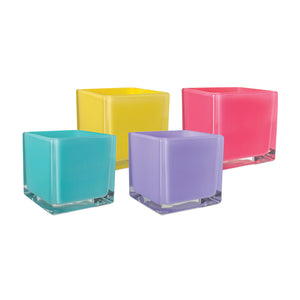 "3065-06-860  5x5x5"" Cube, Lollipop Asst (Case of 6)"