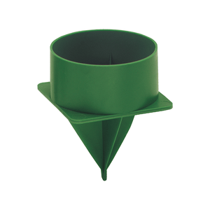 "HH3  Handy Hold 3"" Candle Holder, Green 8/Bag"