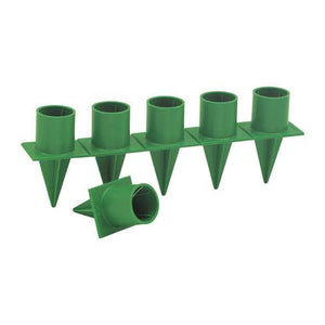 "HH1  Oasis Handy 1"" Candle Holder, Green 36/Bag"