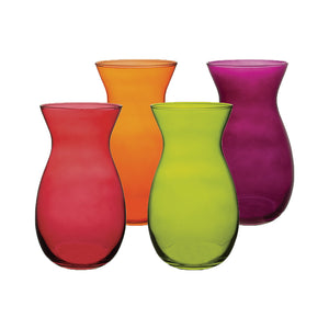 "4045-12-1090  8"" Jordan Vase Assortment 12/Cs"
