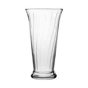 "4175-09-09 10"" Romanesque Vase Crystal 9/Cs"