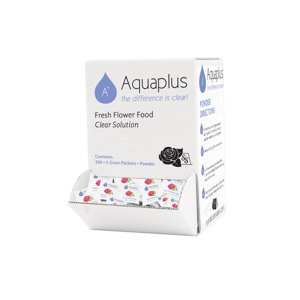 7001-008-05  Aquaplus Packet, (200 Packets) 5gram W/Pop