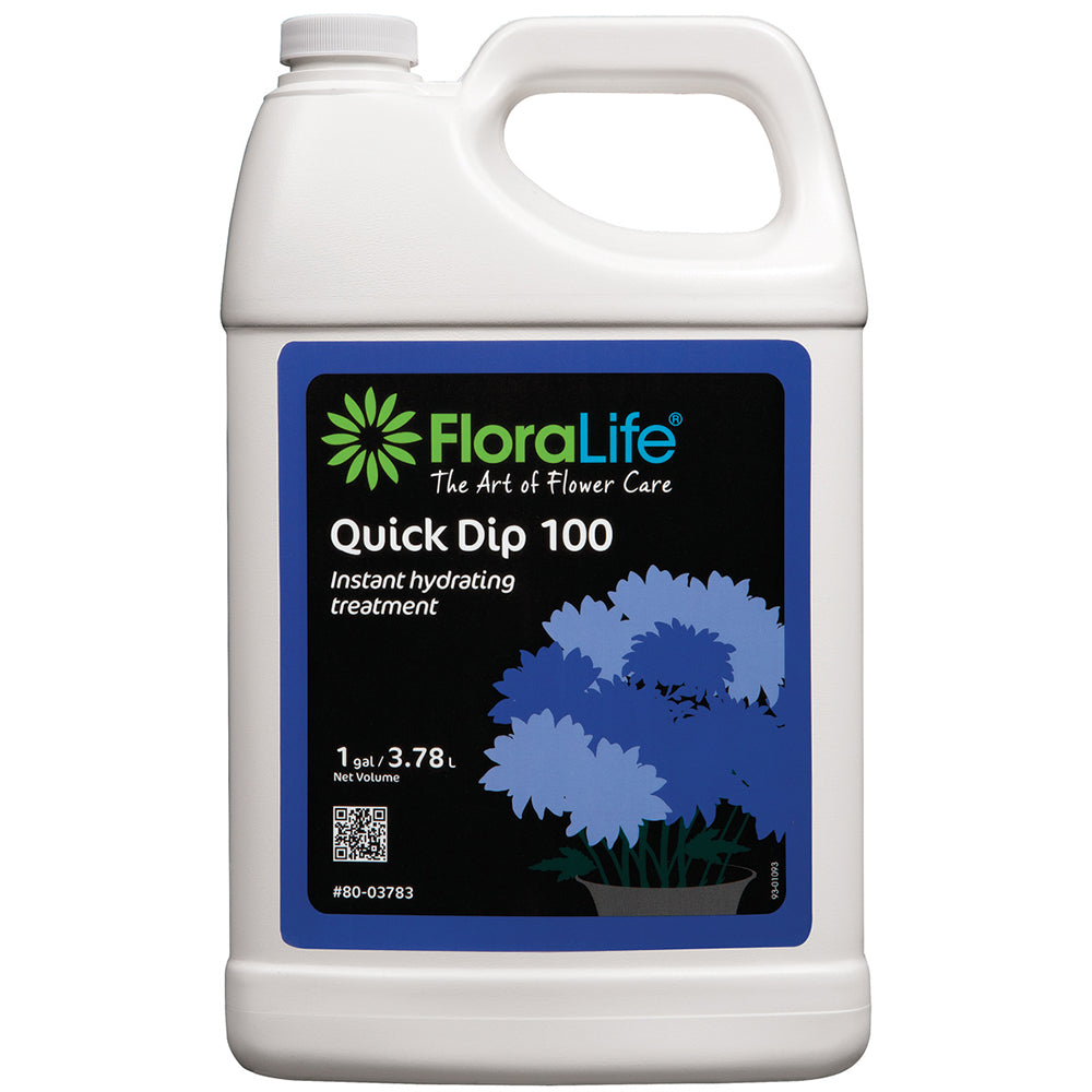 80-03783 Floralife® Quick Dip 100 Instant hydrating treatment 1 Gal.