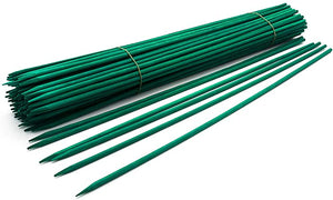"900121GRN 18"" Green Wood Plant Stake (Pack 100)"