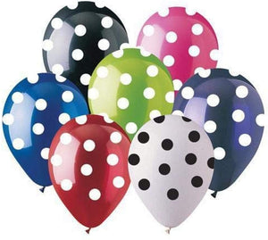 Latex Balloons 50 ct./Bag (Various Prints and Shapes)