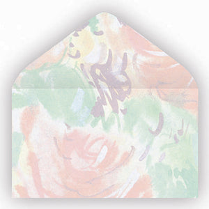 EA0623  No. 63 Floral Mist Envelopes (Box 500)