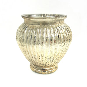"GM732  6""Tall Mercury Ginger Jar Vase"