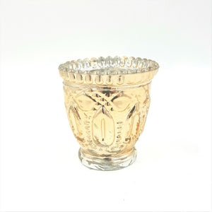 "GM738  3.25"" Gold Mercury Votive"