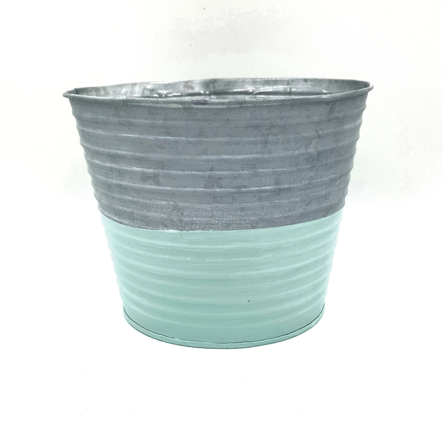 M7615M   Mint Color Metal Pot W/Hard Liner 7