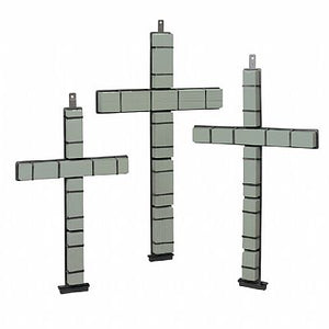 SM2062 Never-Wilt® Snap-Fit Cross 36""