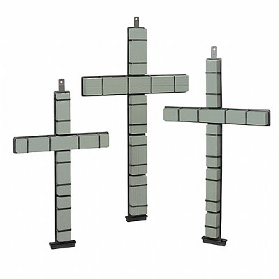 SM2062 Never-Wilt® Snap-Fit Cross 36
