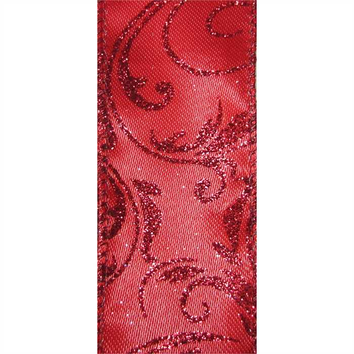 Bethany Ribbon - Red Multiple Widths
