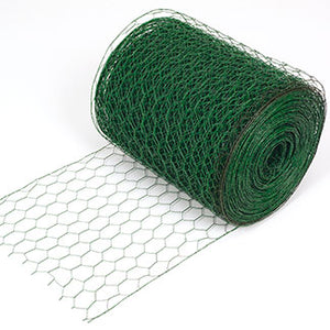 "RS3604 18""x150"" Green Floral Netting"