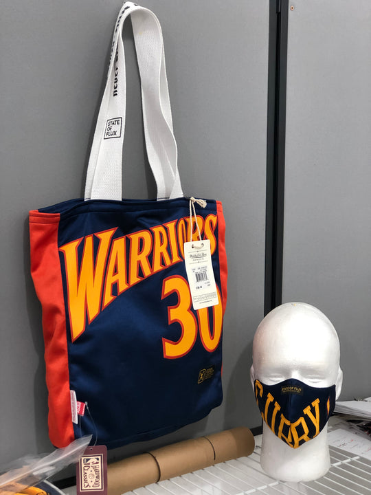 Raffle For Golden State Warriors Face Mask and Tote Bag