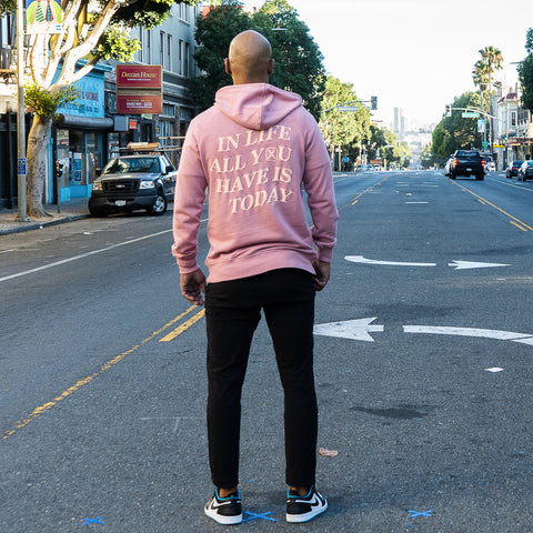 State Of Flux - Shop - Mens - clothing store - workshop - mentality - capsule - collection - streetwear - Today is the Day Hoodie - san francisco - 3