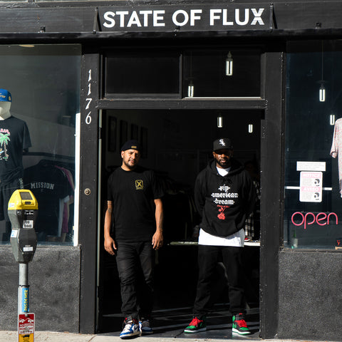 State Of Flux - Shop - Mens - clothing store - workshop - mentality - capsule - collection - streetwear - san francisco - 1