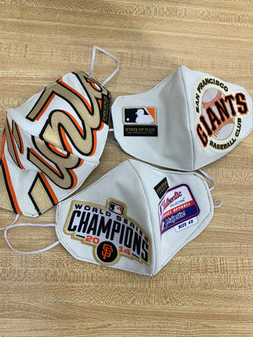 State Of Flux - Shop - San Francisco Giants - Limited Edition - Face Masks - San Francisco - Boutique - 1